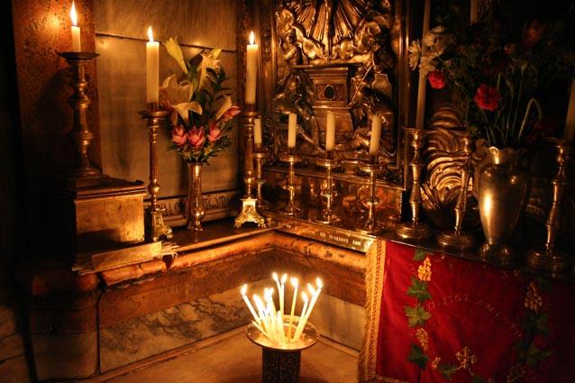 2012-Insider Jesusgrab Grabeskirche Jerusalem Kreis der Hüter Ostern 2012