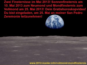 Horoskop Mai 2013 Neumond Vollmond Zeremonie