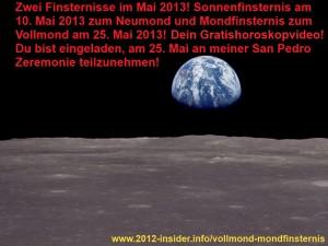 Horoskop Mai 2013 Neumond Vollmond Zeremonie