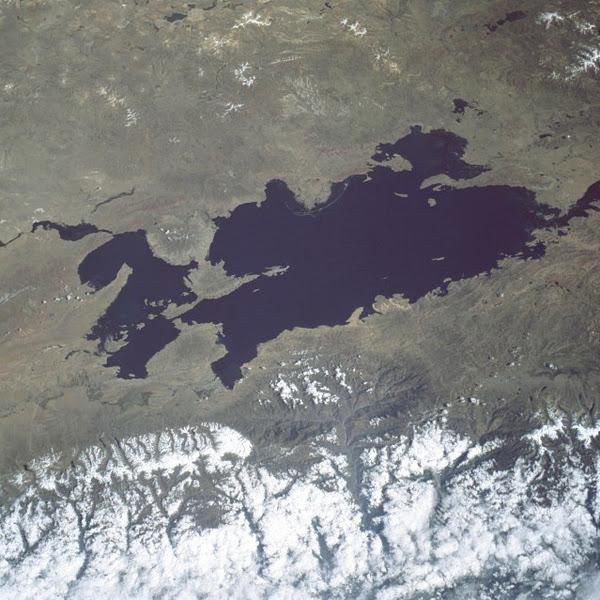 Titicaca-See Ort der Zeremonien zum 11.11.11